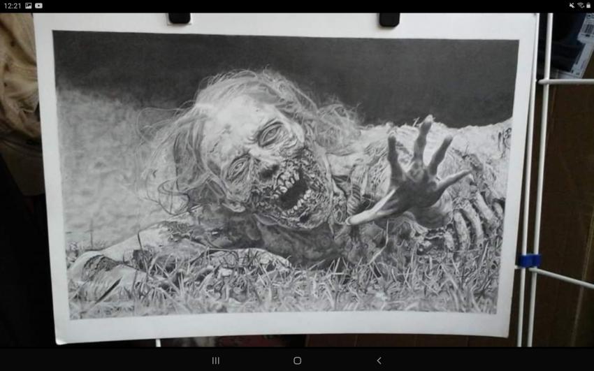 The Walking Dead characters by Debijw
